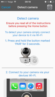 What Are The Steps To Setup My Hubble Camera On Ios Using Wi Fi
